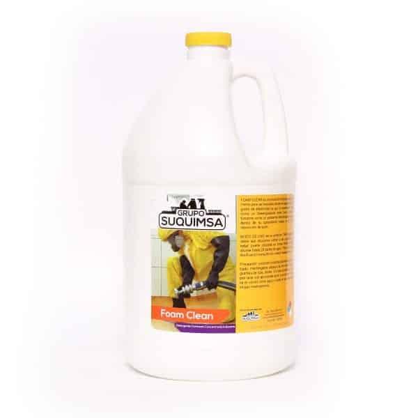 foam-clean Detergente clorado de alta concentración