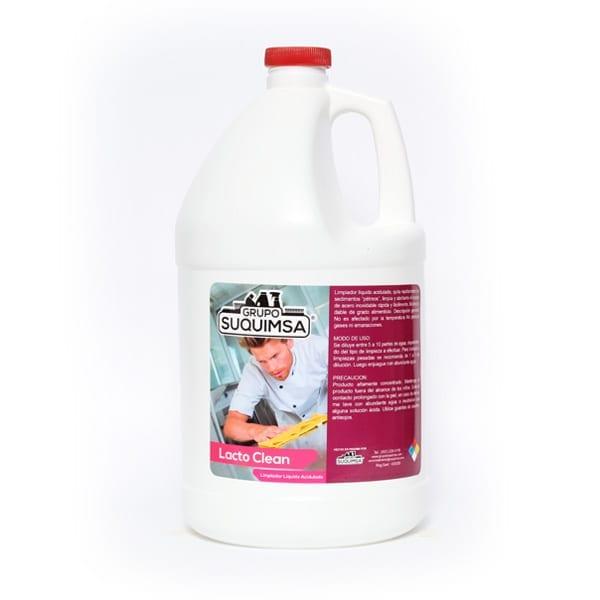 lacto-clean limpiador líquido acidulado