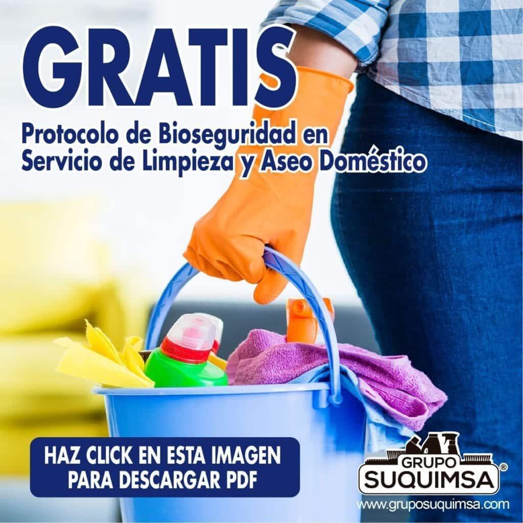Protocolo de Bioseguridad Limpieza y Aseo doméstico