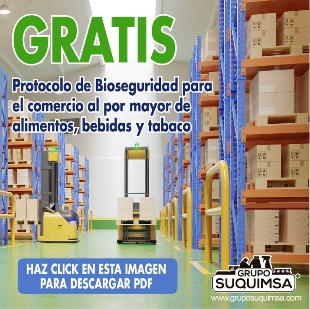 Protocolo de Bioseguridad Empresas Comercio al por mayor de alimentos