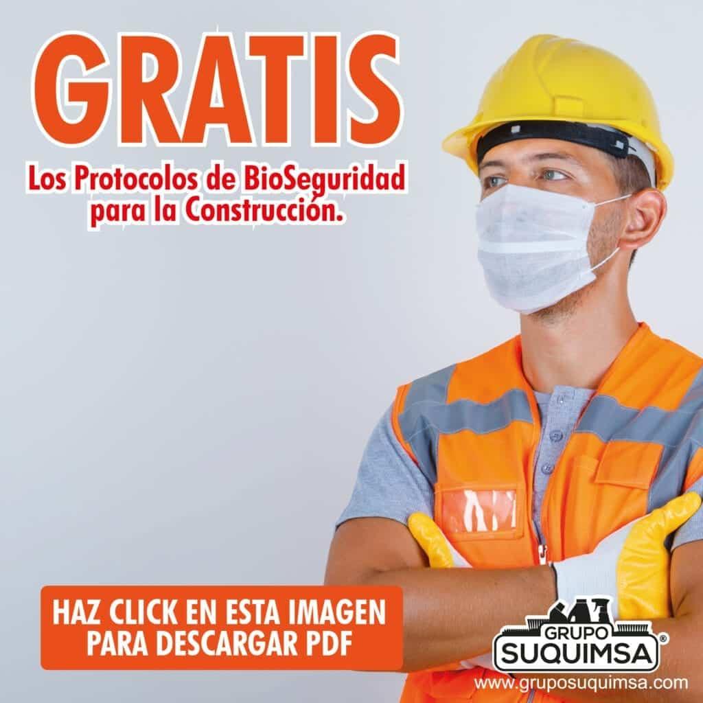 Protocolo bioseguridad Construcción