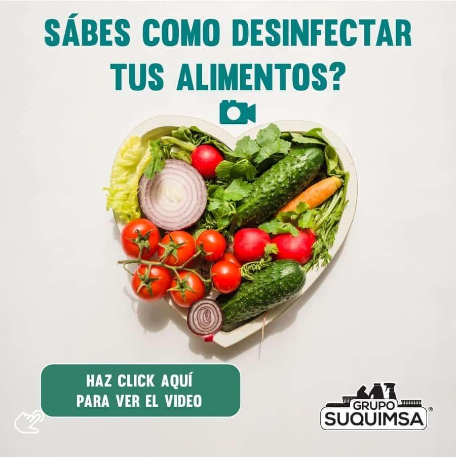 32 Cómo Desinfectar Alimentos