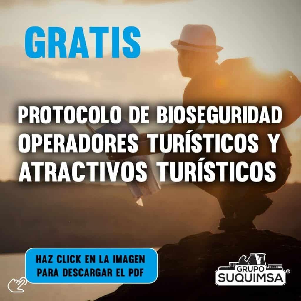 Protocolo de Bioseguridad para operadores turísticos